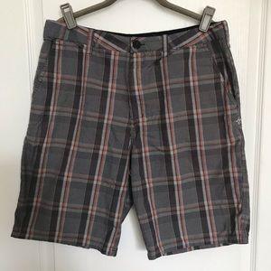 Hurley Plaid Shorts 32